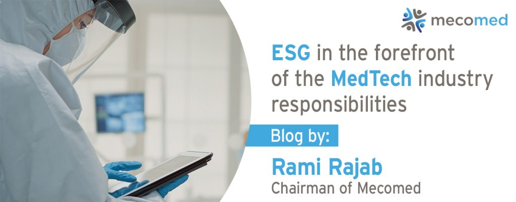ESG in the forefront of industry responsibilities